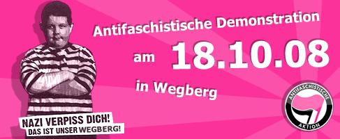 Demobanner Wegberg
