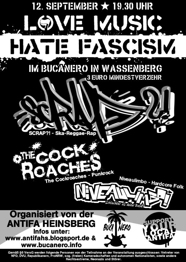 Konzert Antifa Heinsberg